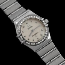 Omega Ladies Constellation 95 My Choice Mini Watch - SS &...