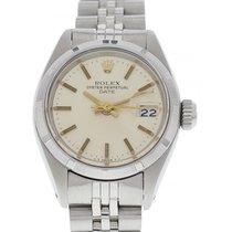 Rolex Ladies Vintage Rolex Date Stainless Steel 6919