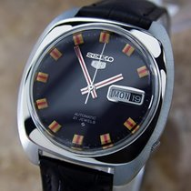 Seiko 5 Circa 1970 Reference 6119 Japanese Automatic Stainless...