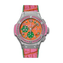 Hublot Big Bang Pop Art 41mm Automatic Stainless Steel Mens...