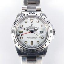 Rolex Explorer II 2 Cream Panna Dial R-Series 1989 100% Full Set