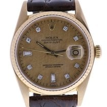 Rolex Datejust Automatic-self-wind Mens Watch 16018 (certified...