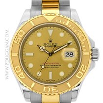 Rolex stainless steel and 18k yellow gold Yachtmaster