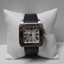 Cartier Santos 100 stainless steel medium size