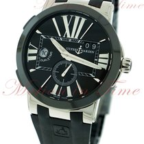 Ulysse Nardin Executive Dual Time GMT, Black Dial, Black...