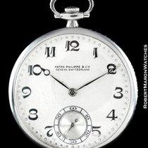 Patek Philippe Pocket Watch Diamonds Platinum