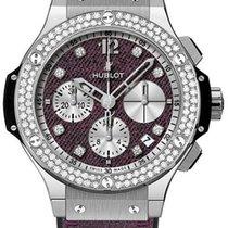 Hublot Big Bang Purple Jeans Diamonds