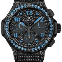 Hublot Big Bang Black Fluo 41mm Blue