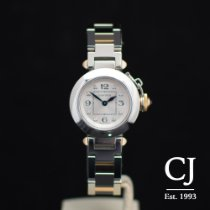 Cartier Miss Pasha Steel & Rose Gold 27mm Diamond Dial