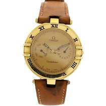Omega Vintage Omega Constellation Day Date 18K Yellow Gold