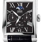 Oris Rectangular Black Dial Automatic Men's Watch