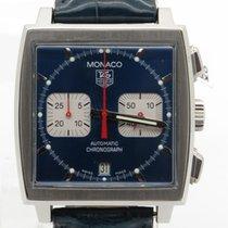 TAG Heuer Monaco Chrono Steve Mcqueen Edition Blue Dial 38mm...