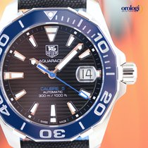 TAG Heuer Men's Aquaracer 300M Calibre 5 Blue Ceramic...