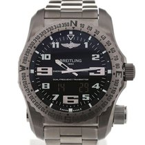 Breitling Emergency 51 Black Dial SuperQuartz