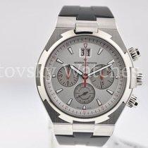 Vacheron Constantin Over seas chrono silver dial/red accents