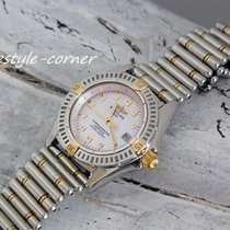 Breitling Callistino  mit Rouleauxband (Stahl / Gold) Box...