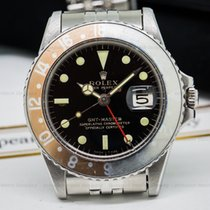 Rolex 1675 Vintage GMT Master Gilt Gloss Faded Bezel (25064)