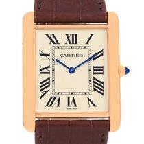 Cartier Tank Louis Xl 18k Rose Gold Manual Winding Watch W1560017