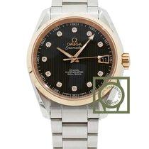 Omega Seamaster Aqua Terra 150M Co-Axial 38.5mm Pink Gold Diamond