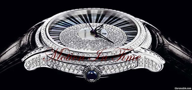 "Audemars Piguet MILLENARY ""PIANOFORTE"" WHITE GOLD DIAMOND LIMITED 250 PIECES"