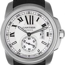 Cartier Calibre de Cartier Men's Stainless Steel Watch...