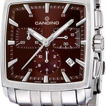 Candino Quadro C4374/I Herrenchronograph Massives Gehäuse