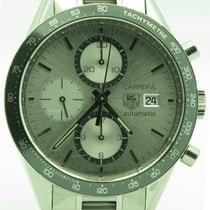 TAG Heuer Carrera Ref. Cv2011 Automatic Chronograph Watch On...