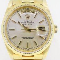 Rolex Day-Date 36mm President Yellow Gold 18kt (Full Set B&P)