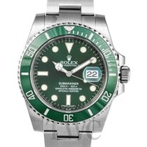 롤렉스 (Rolex) Submariner Green/Steel Ø40mm - 116610 LV