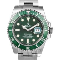 勞力士 (Rolex) Submariner Green/Steel Ø40mm - 116610 LV