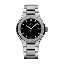 Hublot Classic Fusion 33mm Automatic Titanium Mens Watch Ref...