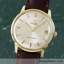 Omega 14k (0,585) Gold Seamaster Herrenuhr Automatik Vintage