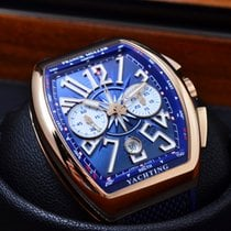 Franck Muller Vanguard YACHTING Chrono Rose Gold