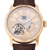Roger Dubuis Hommage 18k Rose Gold Gold Manual Wind DBHO0568