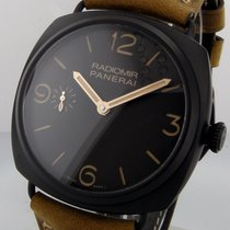Panerai Unworn  Pam 504 Composite 47 Mm Radiomir 3 Days Pam 00504