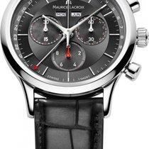 Maurice Lacroix Les Classiques Chronographe LC1228-SS001-...