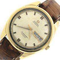 Omega Seamaster Cosmic CD 198.001 Gold Stainless Day-Date Watch
