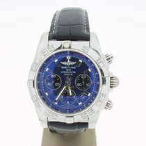 Breitling Chronomat Steel 44mm (B&P2013) Blue Ocean Dial