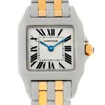 Cartier Santos Demoiselle Steel Yellow Gold Watch W25066z6