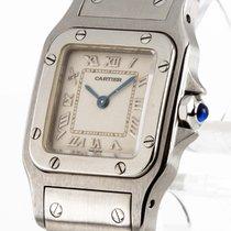Cartier Santos Lady Quarz Stahl Ref.9057930