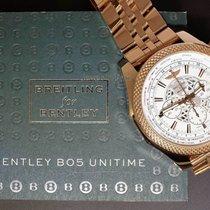Breitling For Bentley B05 Unitime 18k Rose Gold Chronograph...