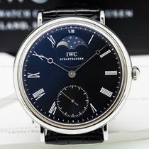 IWC IW544801 Portofino Vintage Collection Hand Wound Moon SS...