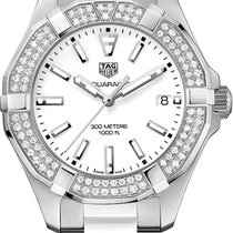 TAG Heuer AQUARACER Steel Keramik White Diamonds WAY131F BA0914