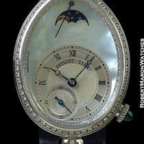 Breguet Reine De Naples 18k White Gold Automatic Mother Of...