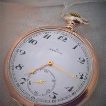 Zenith vintage silver in rare good condition, serviced
