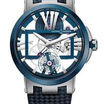 Ulysse Nardin Executive Skeleton Tourbillon Titanium &...