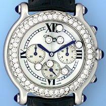"Chopard ""Happy Sport"" Diamond Chronograph."