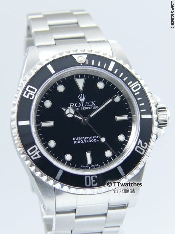 Rolex Submariner 14060M Y Series