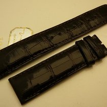 IWC Genuine Alligator strap 20/18 mm dark Burgundy, New
