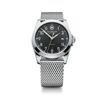 Victorinox Swiss Army Infantry mechanical dark gray dial,...